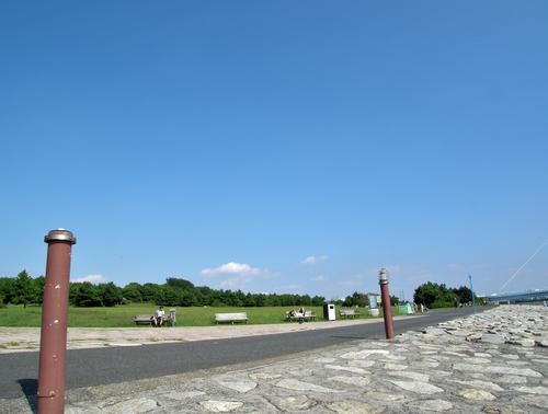 葛西臨海公園 夕風の広場