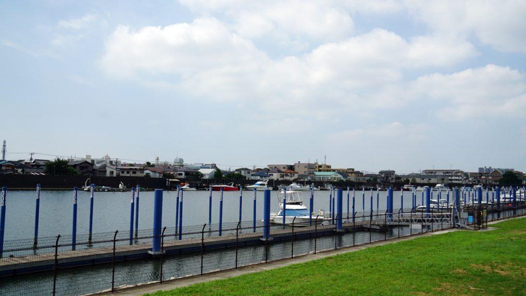 旧江戸川の風景