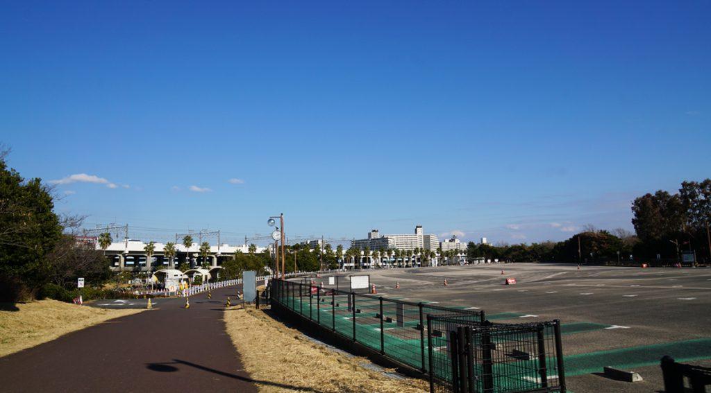 葛西臨海公園 駐車場