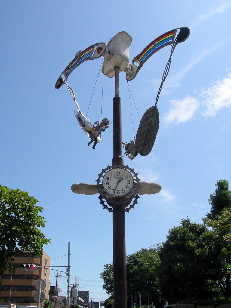江戸川区 総合レクリエーション公園 子供の広場前の時計