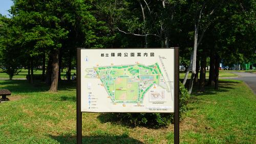 都立篠崎公園 案内図
