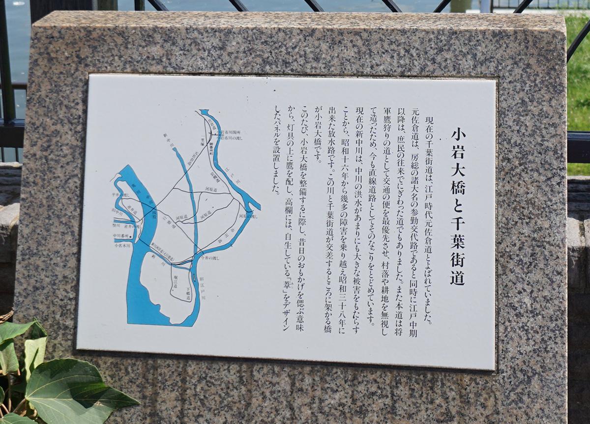 画像 小岩大橋と千葉街道