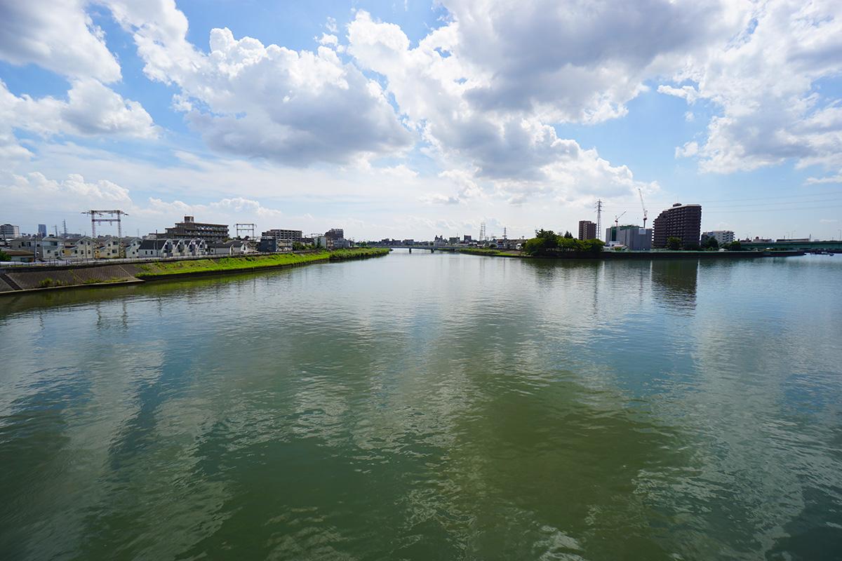 画像 新中川のはじまりの地点2