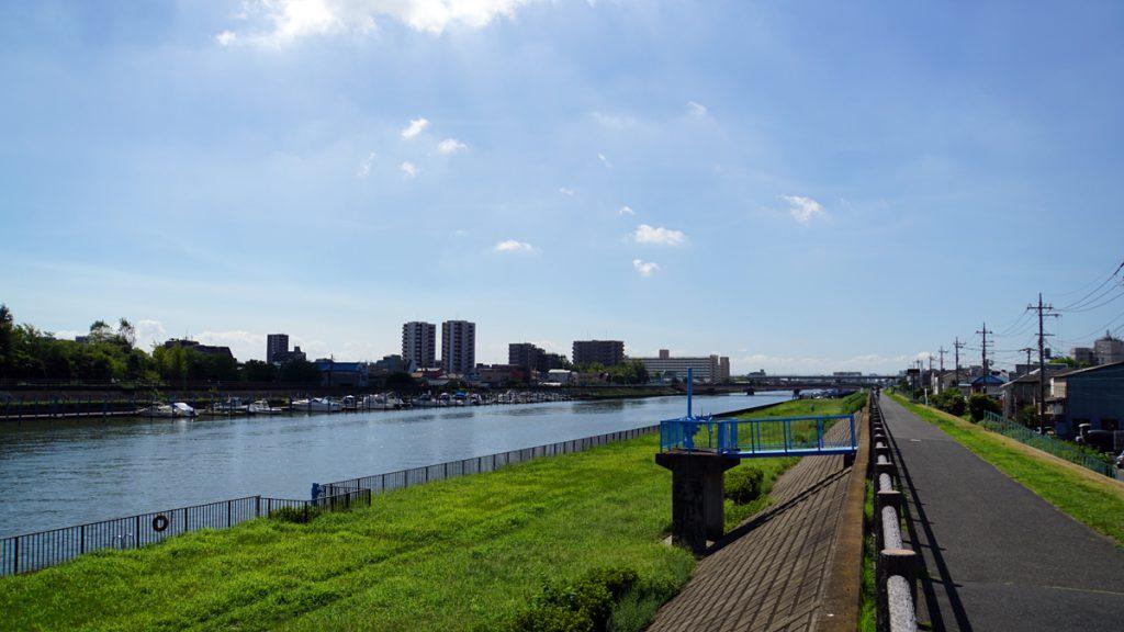 画像 新中川の風景