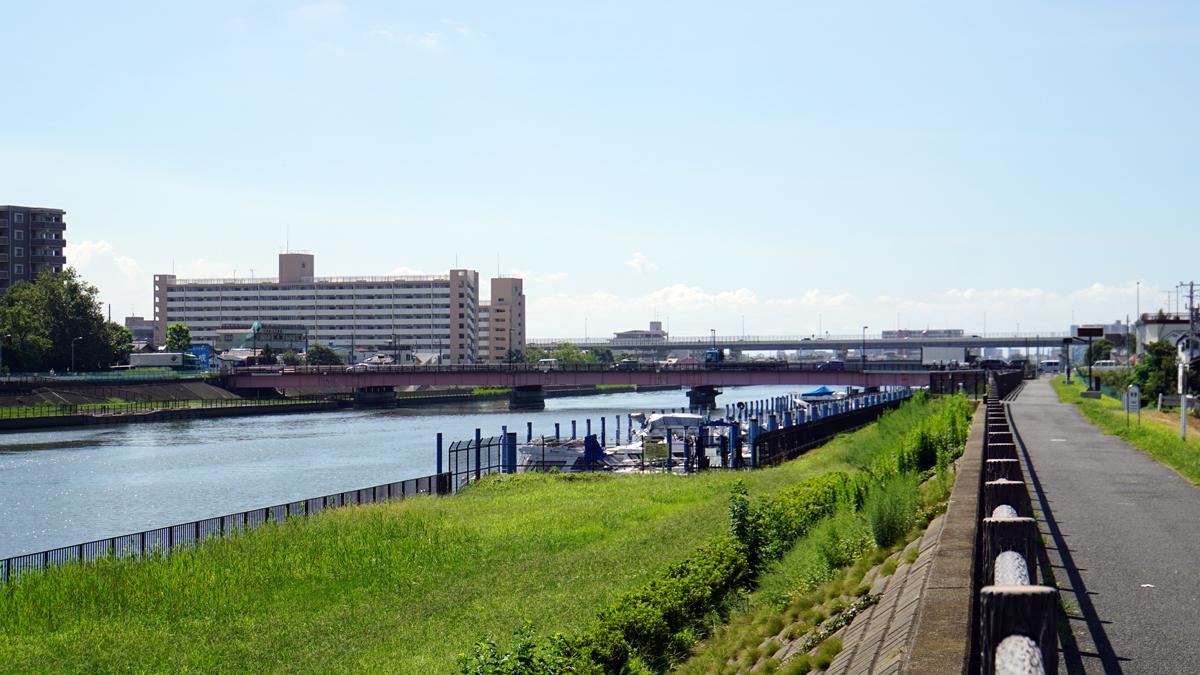 画像 新中川にかかる一之江橋