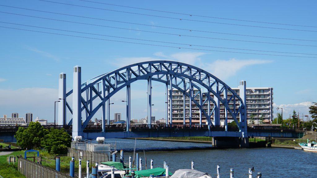 画像 新中川にかかる明和橋