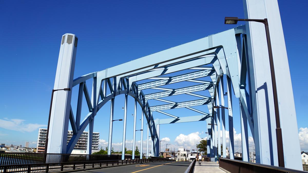 画像 新中川にかかる明和橋2