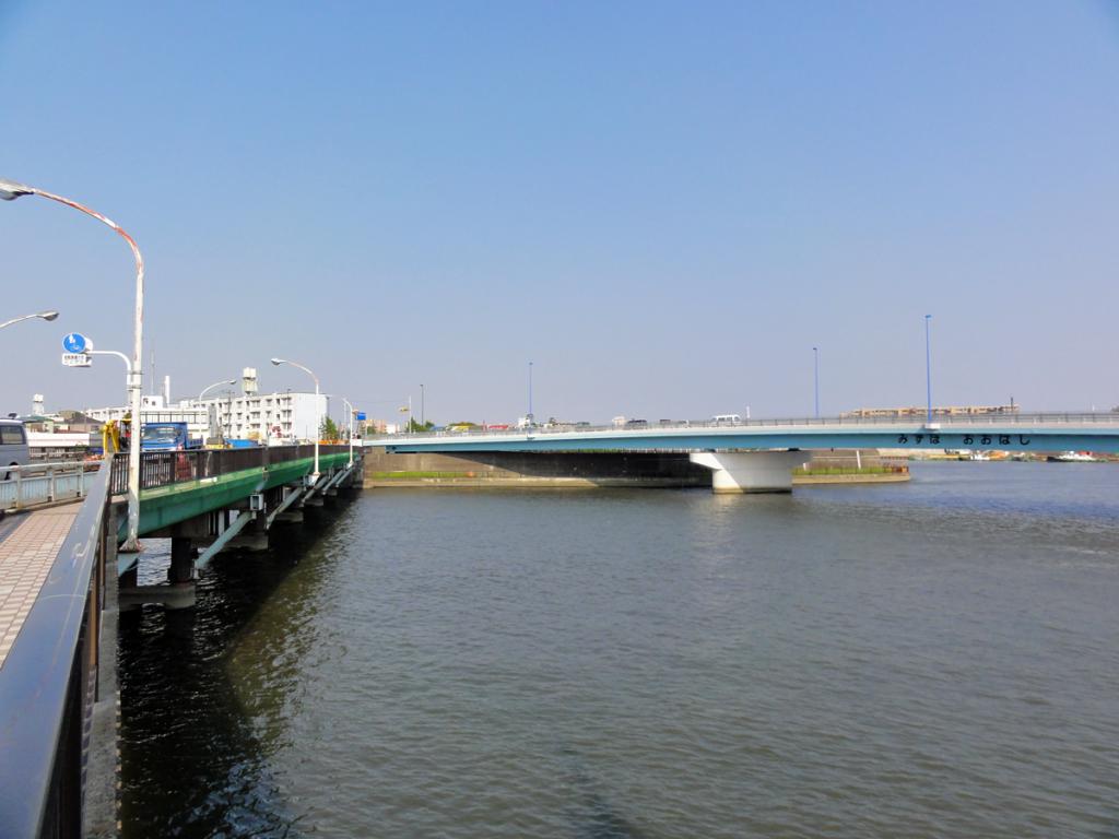 画像 新中川にかかる瑞穂大橋