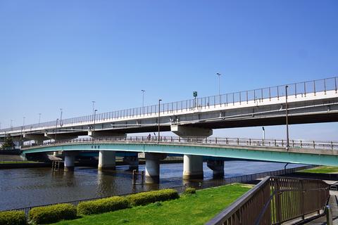 画像 新中川にかかる新椿橋