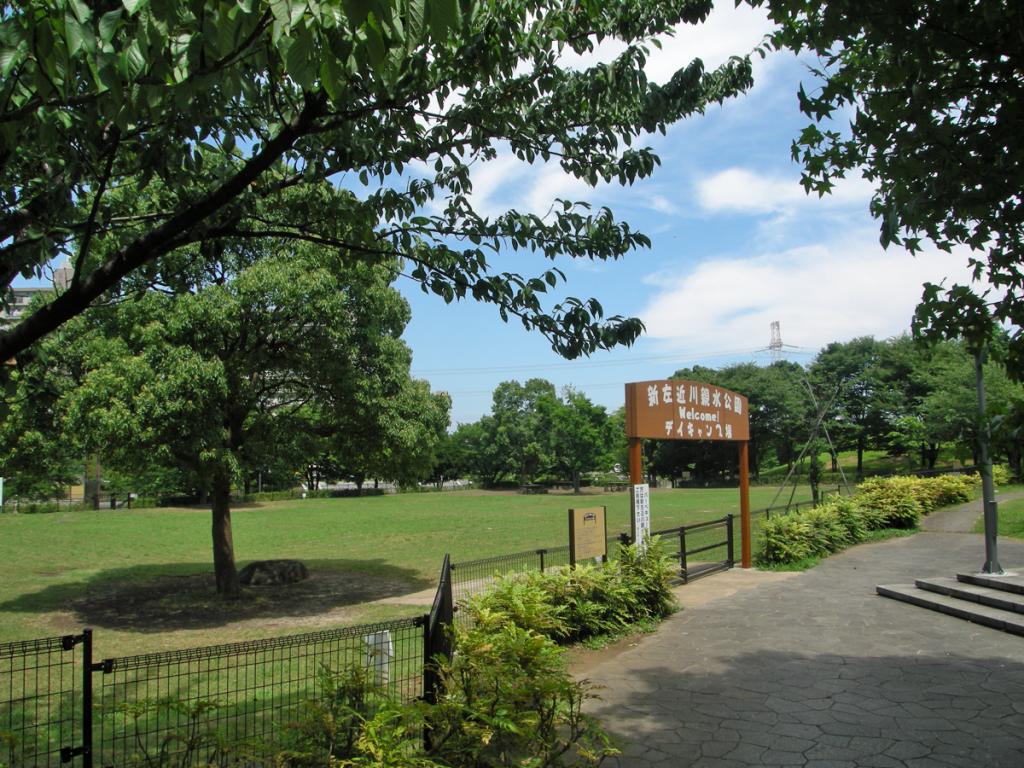 画像 新左近川親水公園の夏の風景 デイキャンプ場