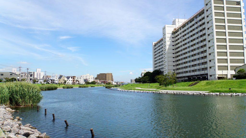 画像 江東新橋吹きの旧中川