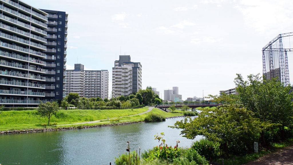 画像 江戸川区内の旧中川上流