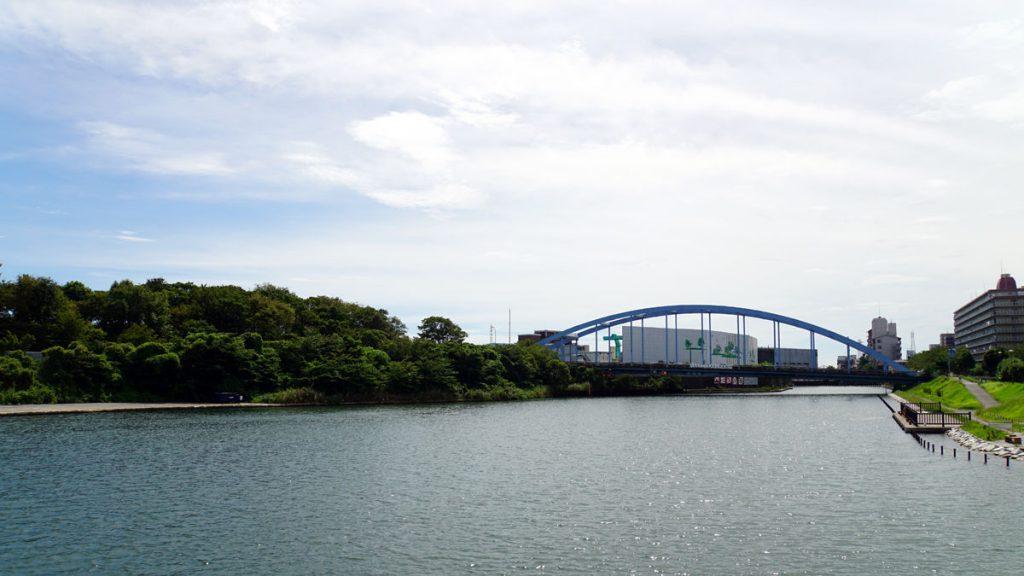 画像 平成橋(旧中川の風景)
