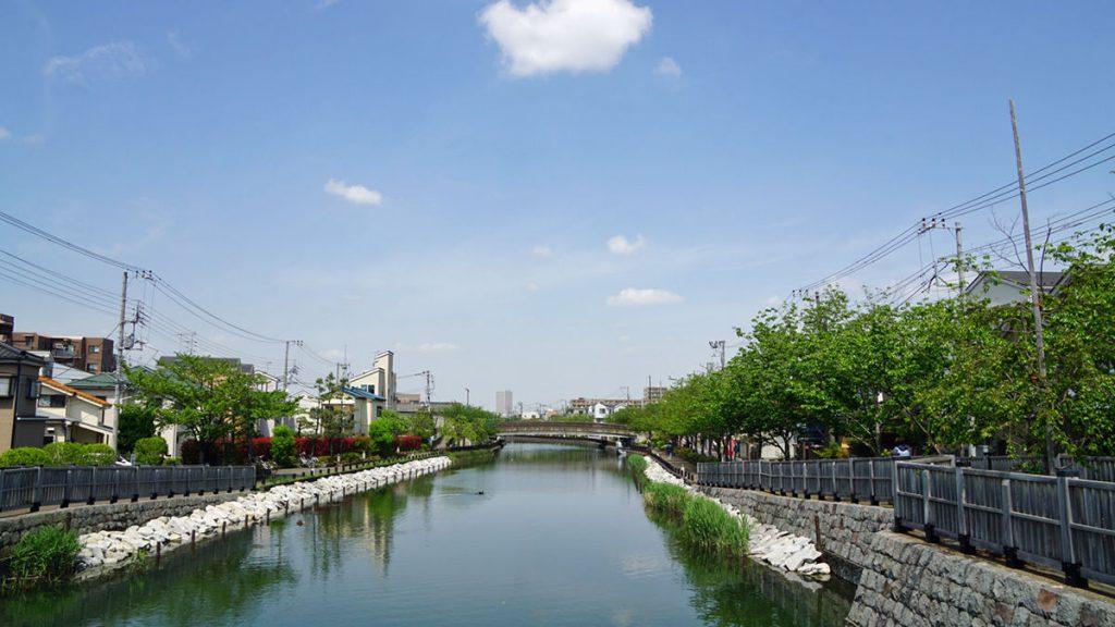 新川 夏の風景