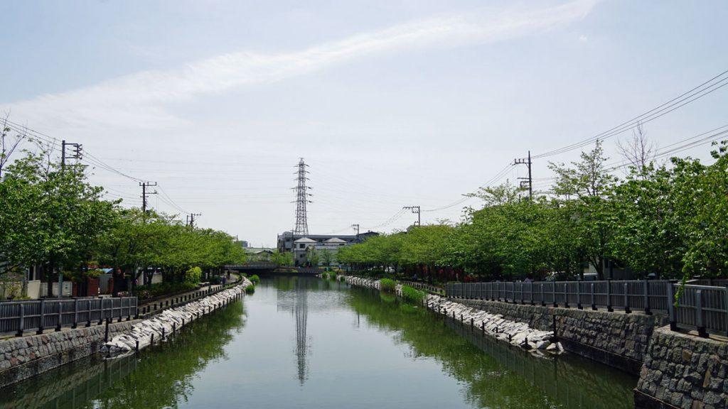 新川 夏の風景2