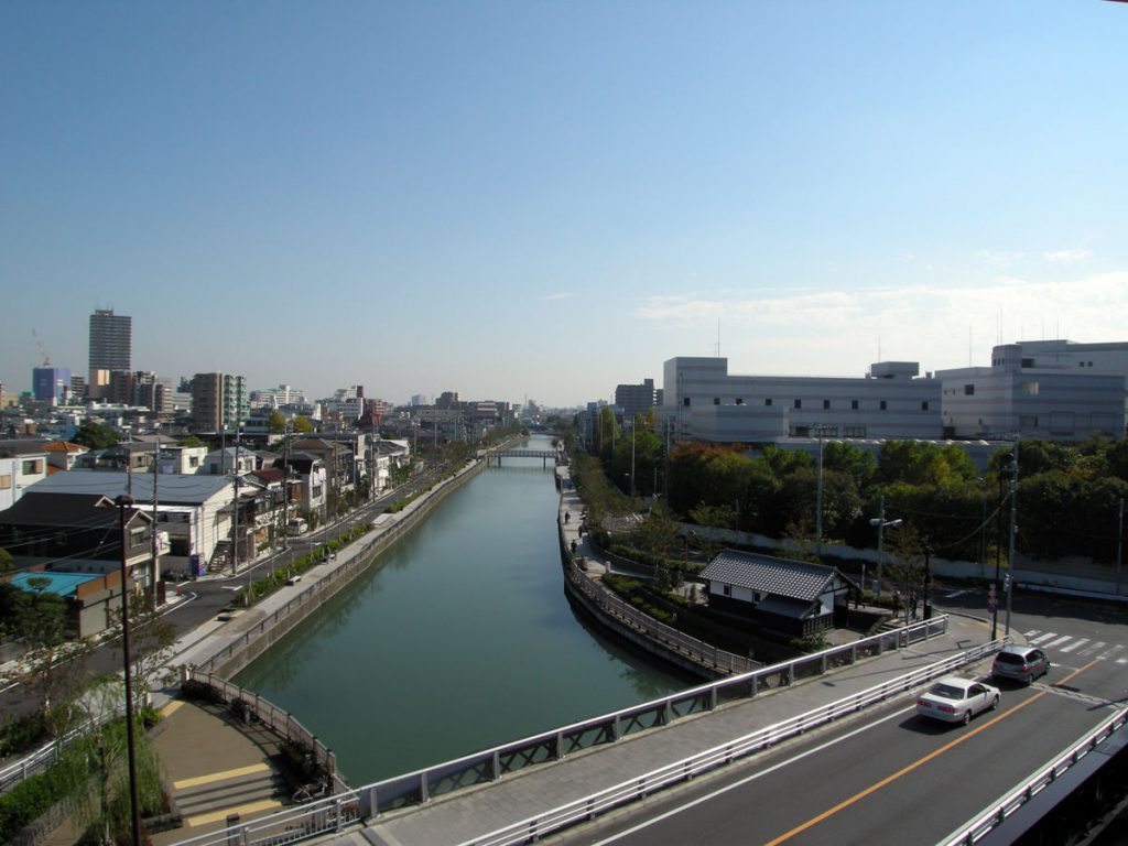 新川 火の見櫓からの風景