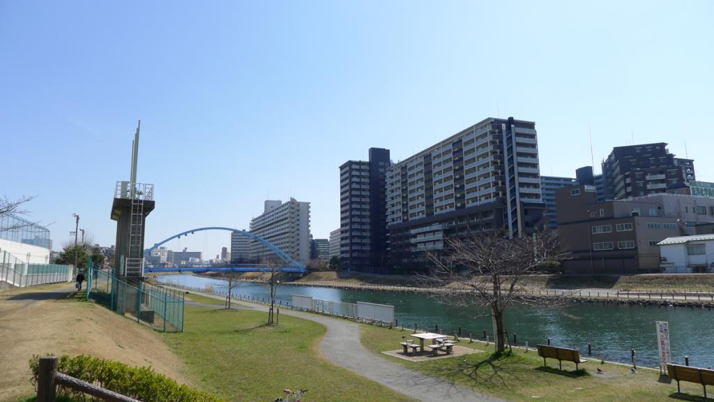 画像 旧中川 ふれあい橋周辺