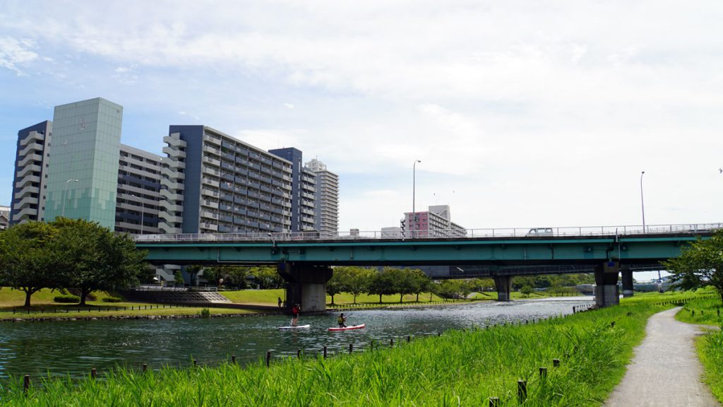 旧中川の風景