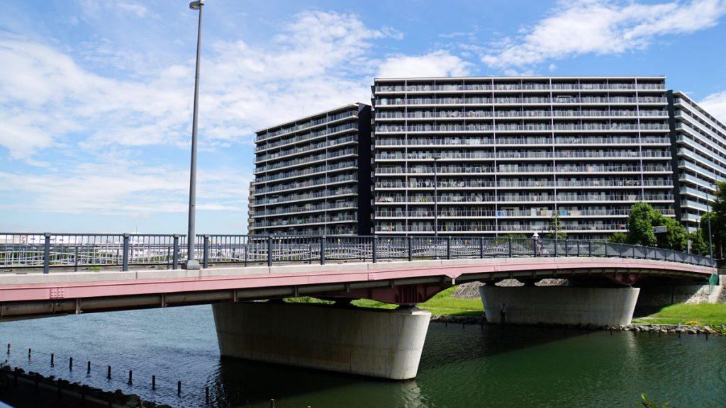 画像 江戸川区と墨田区を結ぶ中平井橋