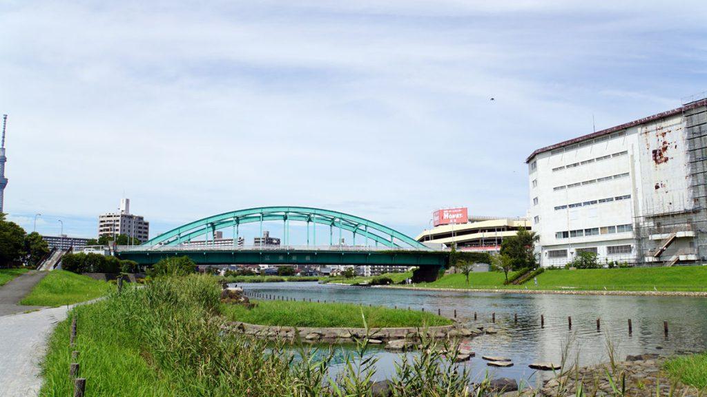 画像 江東新橋の南側の風景