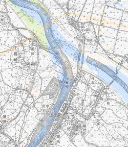 大正6年の地図