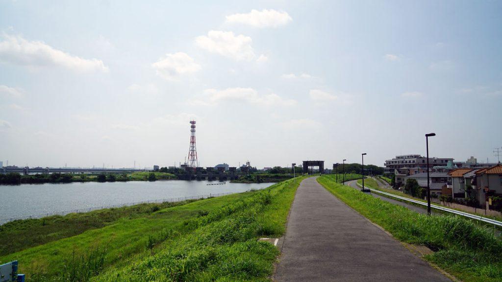画像 江戸川水閘門