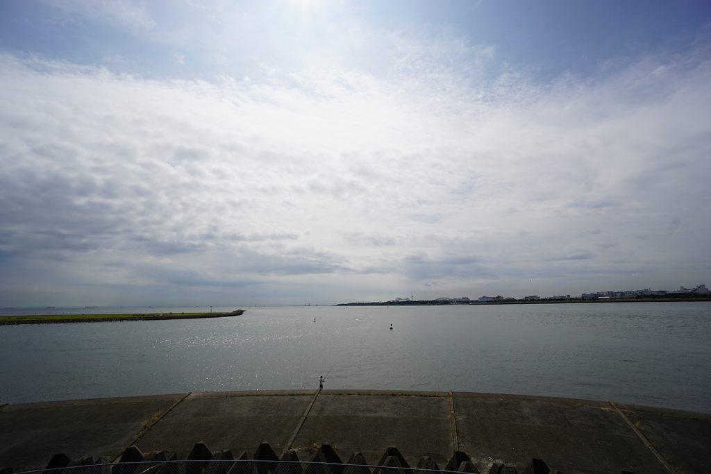 画像 荒川河口の風景