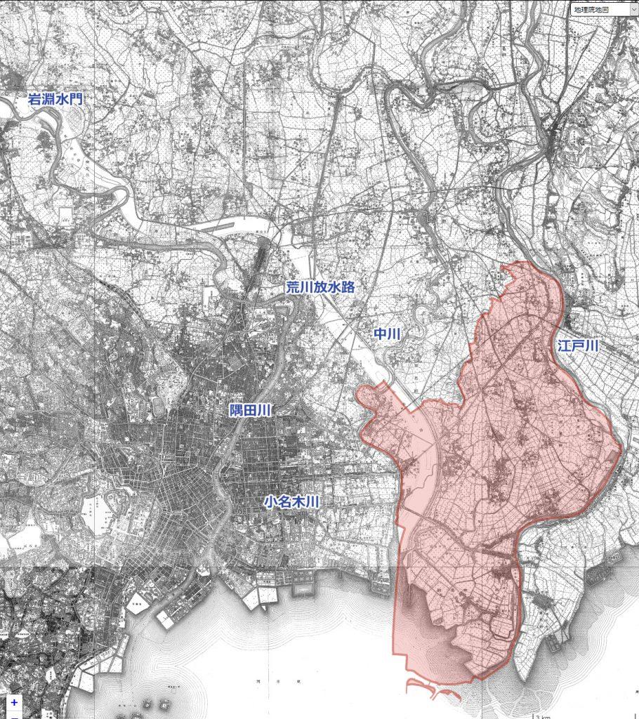 地図 大正6年(1917)の地図