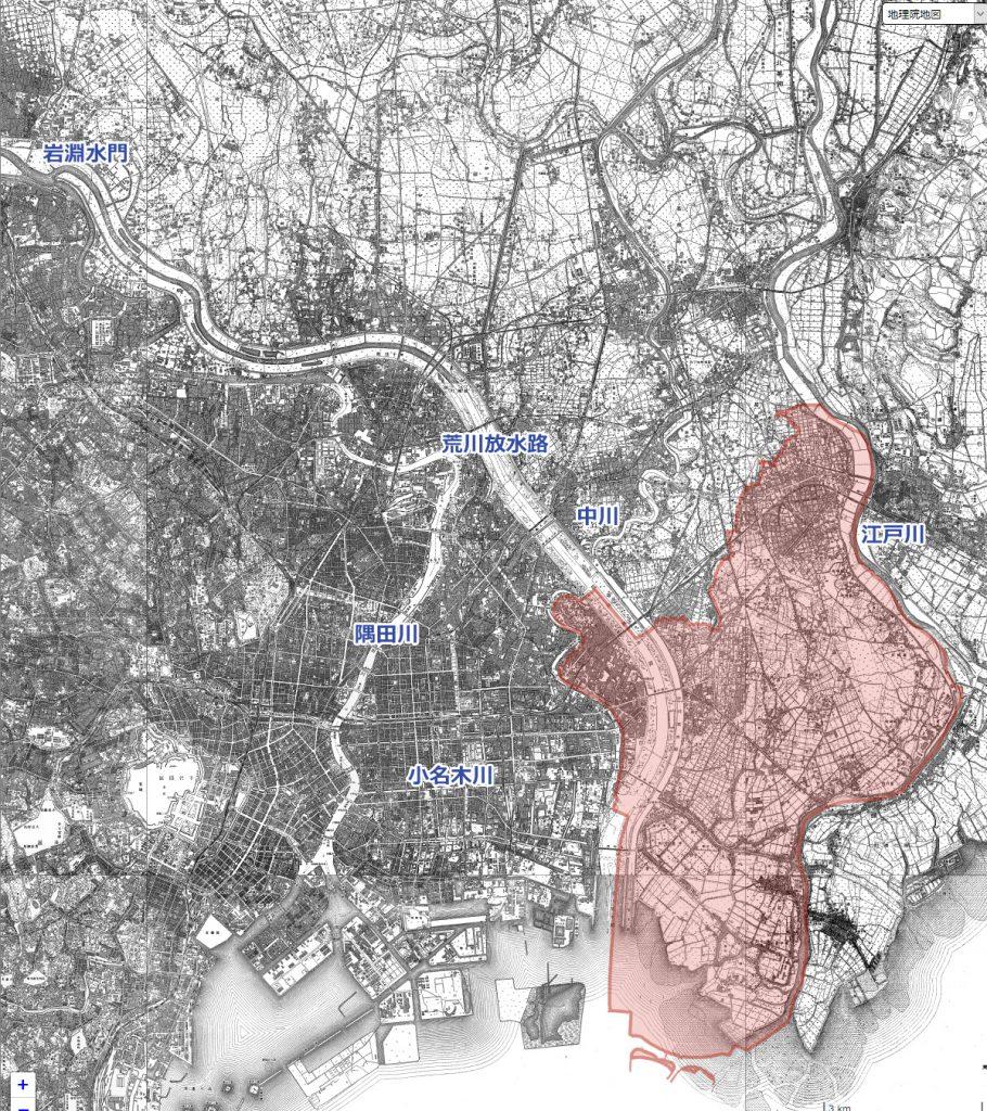 画像 昭和22年(1947)の地図