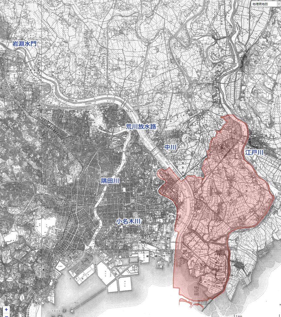 画像 昭和5年(1930)の地図