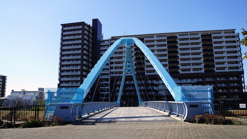 画像 旧中川の風景 ふれあい橋