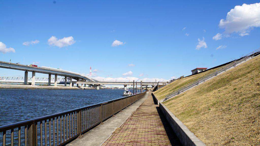 画像 中川放水路の風景5
