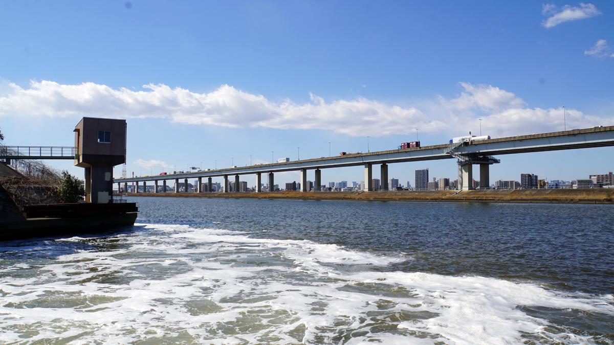 画像 中川放水路の風景7