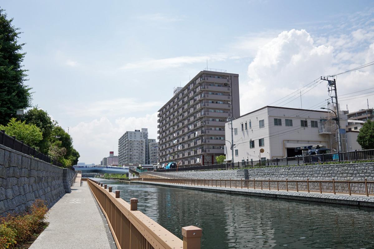 画像 小名木川の風景