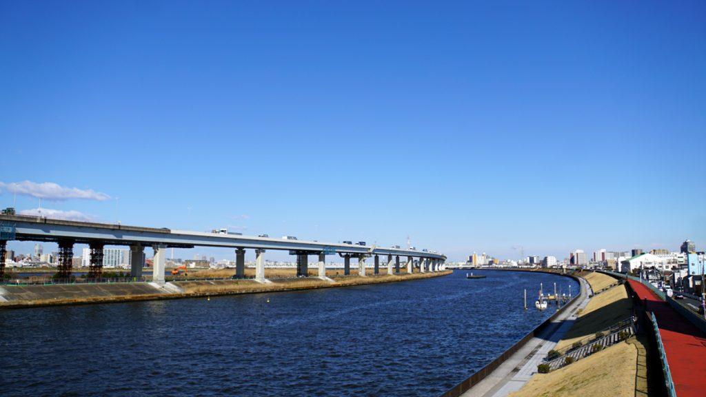 画像 中川の風景