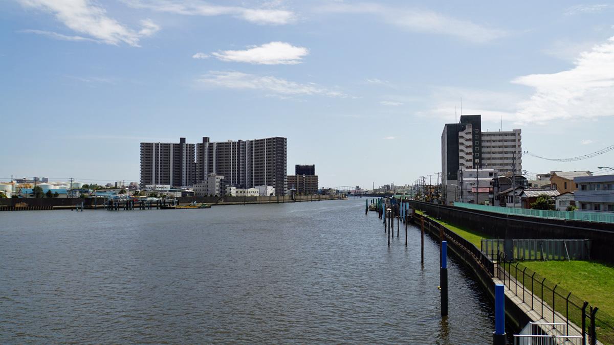旧江戸川の出し杭