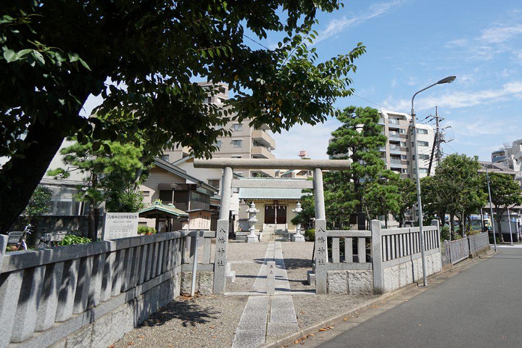 画像 西葛西八幡神社