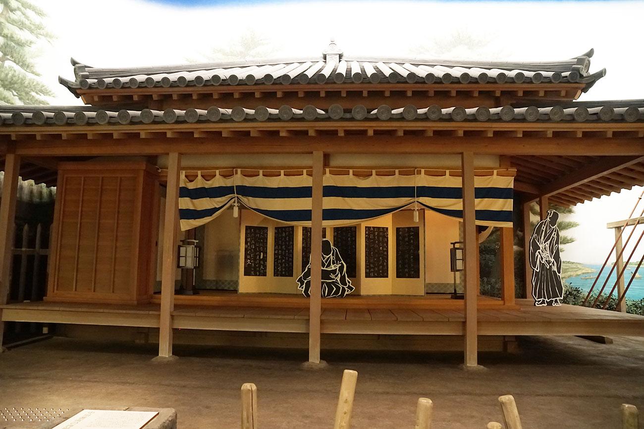 画像 中川船番所のジオラマ1