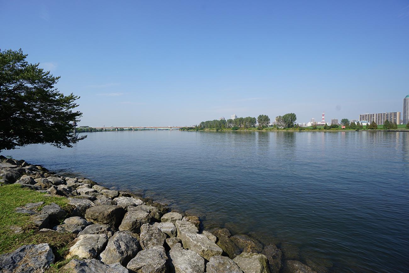 画像 荒川の風景