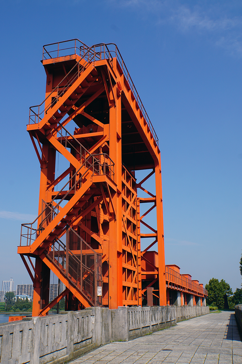 画像 旧岩淵水門(赤水門)