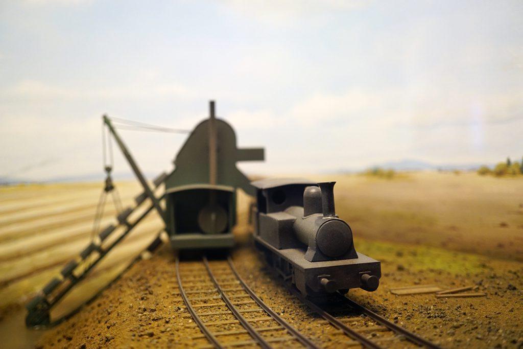 画像 蒸気掘削機による掘削の様子