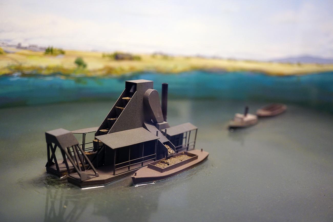 画像 浚渫船