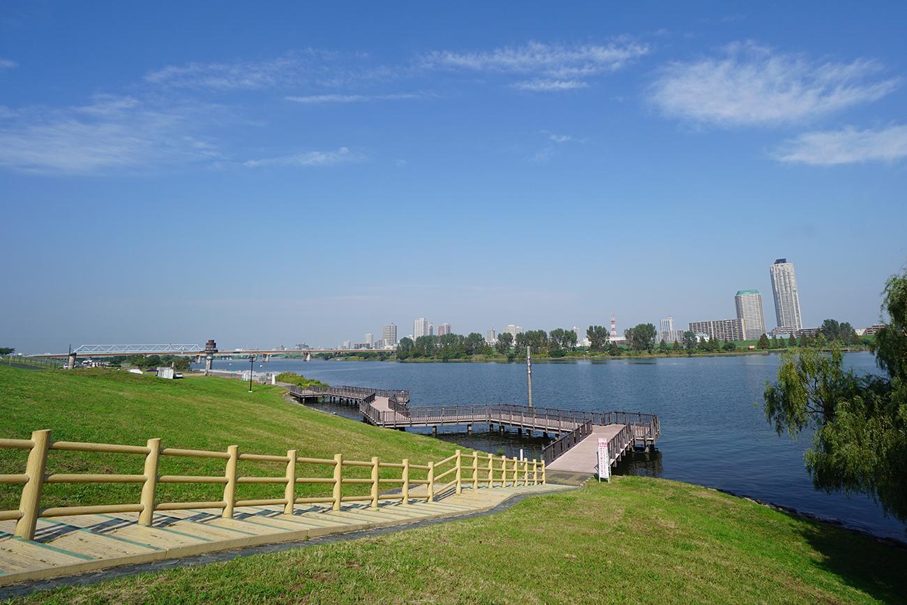 画像 荒川の風景(旧岩淵水門周辺)