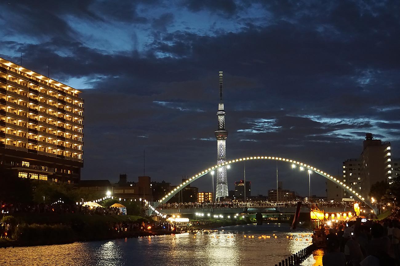 画像 第20回旧中川東京大空襲犠牲者慰霊灯籠流し