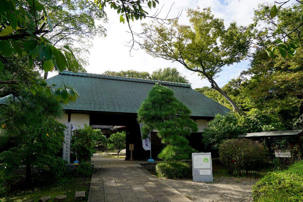画像 一之江名主屋敷の長屋門
