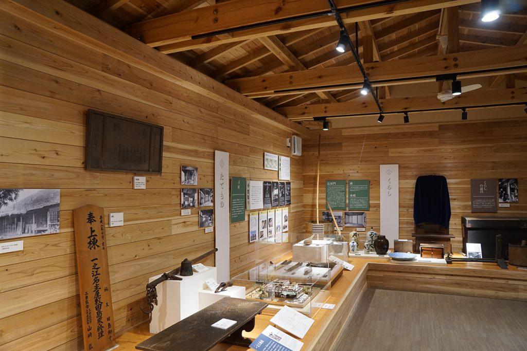 画像 一之江名主屋敷 展示室内部