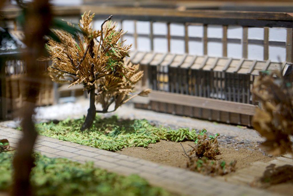 画像 一之江名主屋敷の模型