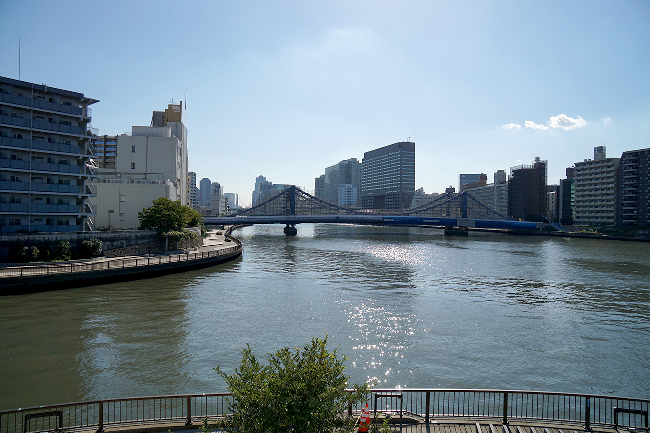 画像 隅田川と小名木川