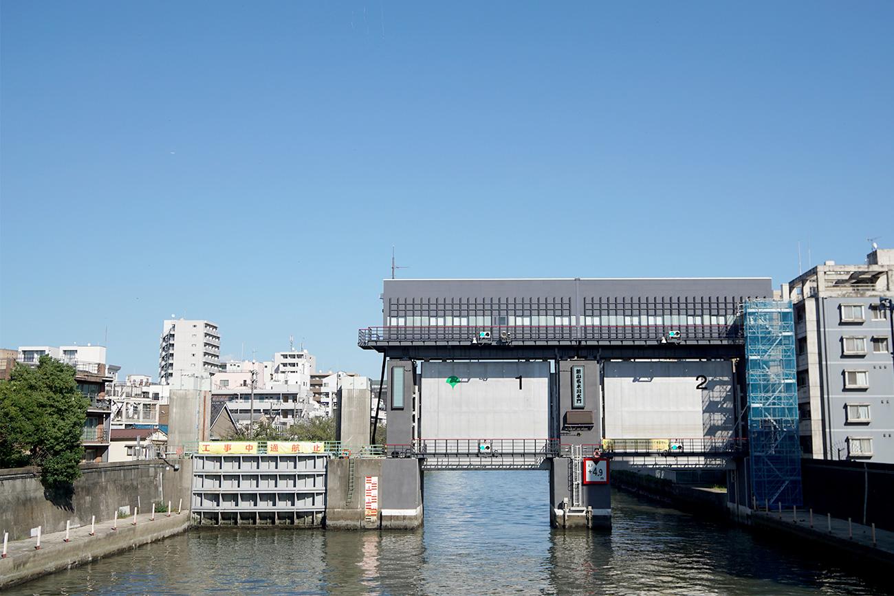 画像 小名木川水門