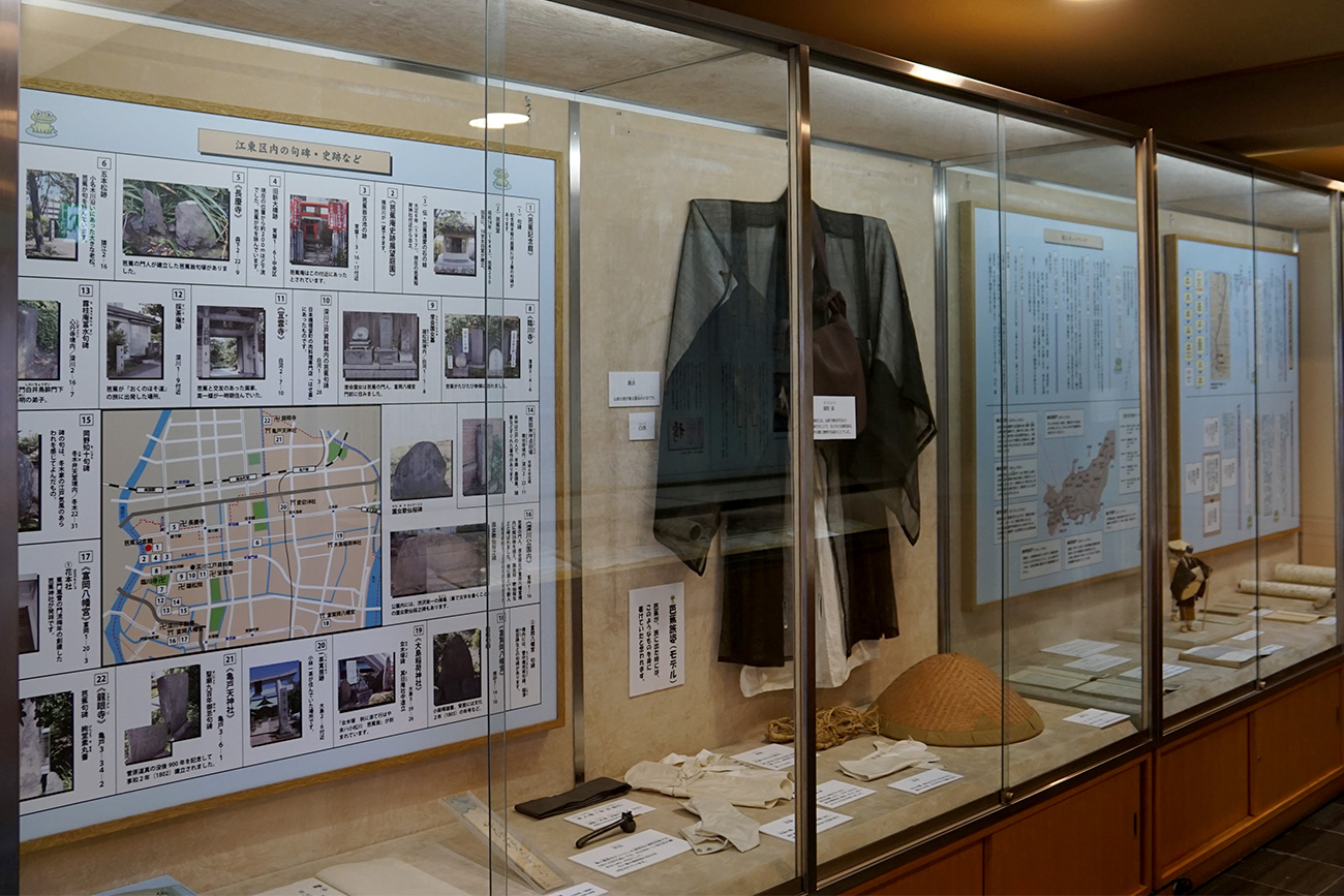 画像 江東区内の句碑・史跡などの展示